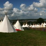 Calm over the Tipi Field