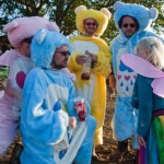 Glastonbury Care Bears - please join the I <3 glastonbury care bears on Facebook - the outfits are being auctioned off for Oxfam!!