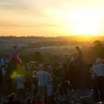 Sunrise on the Monday at the Stone Circle
