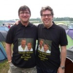 The Chuckle Brothers Take Glasto by Storm.