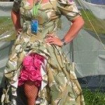 This is my Glasto Dress.... a massive hit, i had a queue at one point wanting photos. x