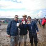 Glastonbury milk and Donuts.....The Breakfast of Champions!!!!!