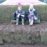 grass/mud sofa Tom and sammy