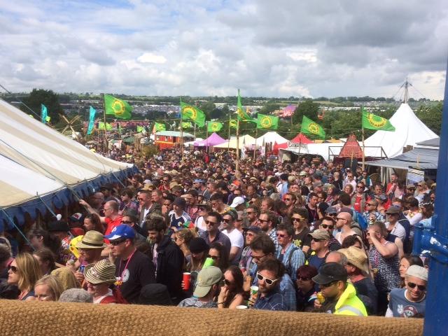 Travis crowd