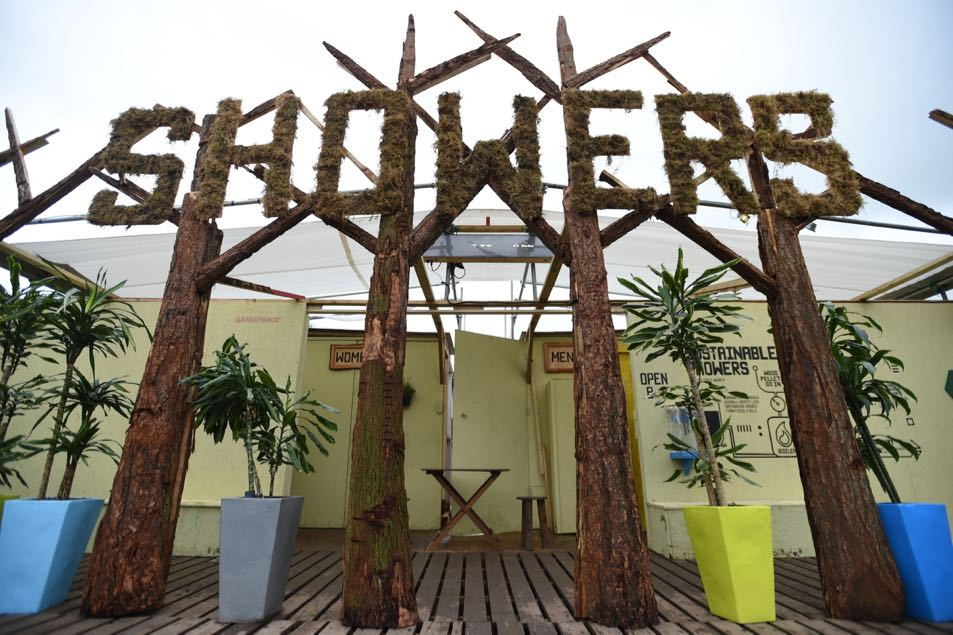The Showers in the Greenpeace field
