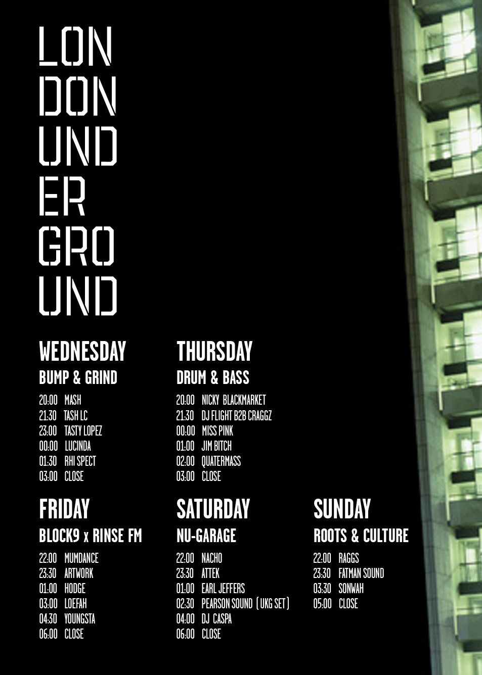 London Underground Full 2017