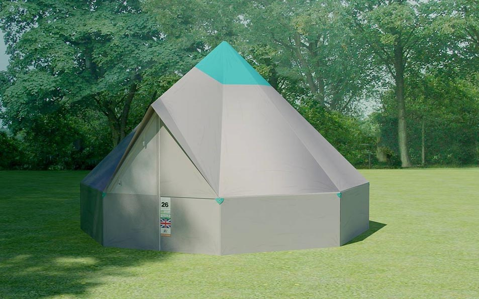SCOUT TENTS & Worthy view accommodation options | Glastonbury Festival