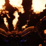The beautiful pyrotechnics of Arcadia!