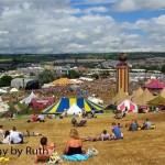 View over Glastonbury