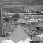 View of Glastonbury