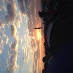 Sunset at glasto