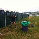 queue for toilet? not us!! 36 immaculate hidden toilets all week!!!