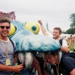 Getting eaten alive by glastonbury