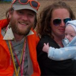 My first Glastonbury at six months with mum and dad