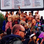 It was Thursday, it was raining, it was Glastonbury, it was time to strip off and dance on a podium