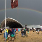 Sonic under the rainbow