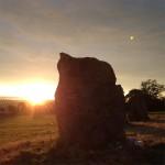 Sunrise over the stone circle