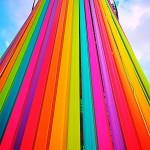 Rainbow Ribbon Tower
