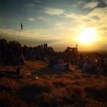 Glastonbury Hill Sunset