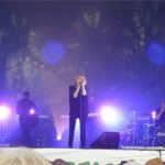 Alison Goldfrapp of Goldfrapp plays West Holts Saturday evening