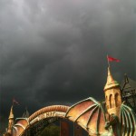 Storm Cloud Looms Over The Park
