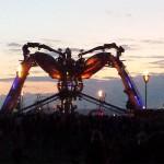 Arcadia at sunset
