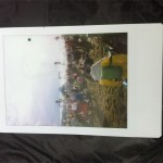 Polaroid of the Pyramid Stage