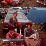 Parking by your tent, er camping by your car, in front of a stage, shouldn't be allowed....