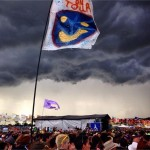 Storms Gathering Over The Main Stage
