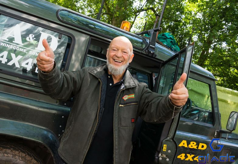 Michael Eavis at the Glade 2014