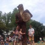 Some big sculpture