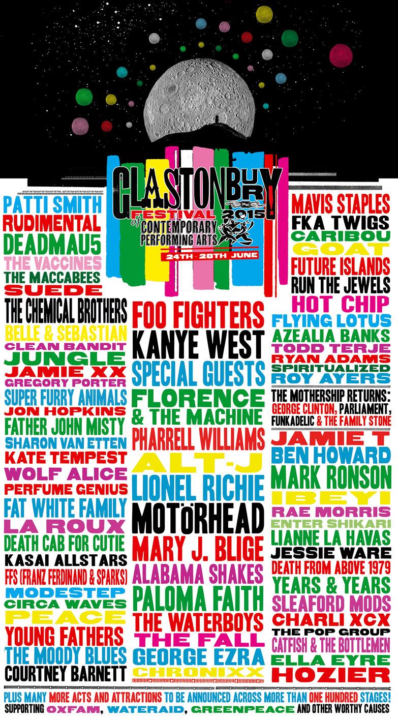 Музыкальный фестиваль в Гластонбери