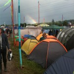 Somewhere over the RAINbow .. twas the festival