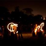 Fire dancing 3