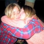 First night hugs