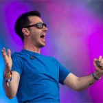 Shlomo performs his beatboxing on the Park Stage