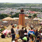The perfect view #glastonbury2015