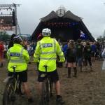 Police at Pyramid
