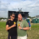 My 1st ever Glasto with my little bruv!