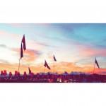 Sunset during Mark Ronson