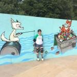 Greenpeace ramp quad skatey funs