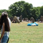 'Strolling in the stone circle'