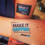 Water aid tattoos