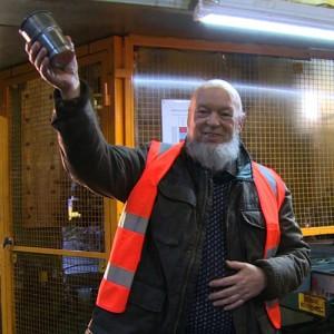 Glastonbury launches reusable British steel pint cups
