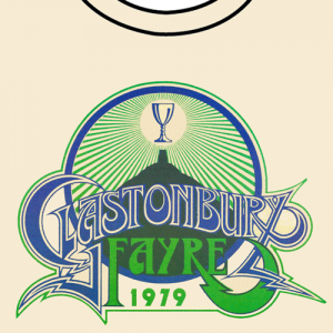 New retro Glastonbury poster T-shirts available