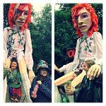 David Bowie puppet