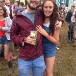 engaged at Glasto !
