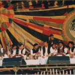 Qawwali music by Nusrat Fateh Ali Kahn and Group
