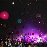 Coldplay's colourful balls