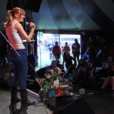 Glastonbury Festival - Call for poets and spoken word artists for Glastonbury 2017